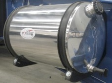 Polished Stainless Water Tank