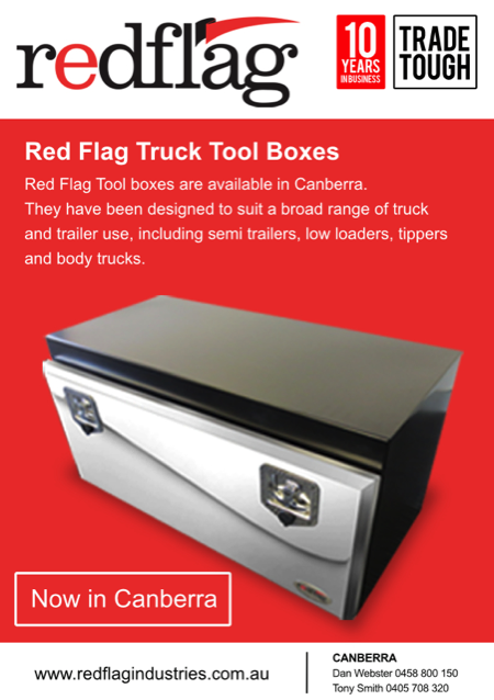 canberra tool boxes