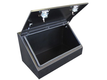 sloping lid truck tool box