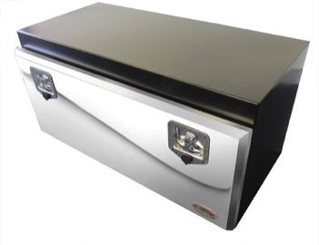 recessed lid truck tool box